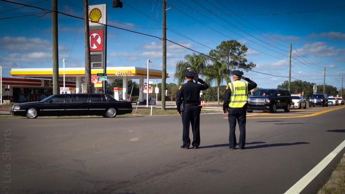 Funeral Procession - Officer Charles Kondek
